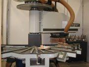 STEGHERR CNC Rundbogenfräsmaschine, Typ RBF