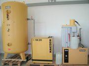 KAESER SK 26 - Kompressoranlage