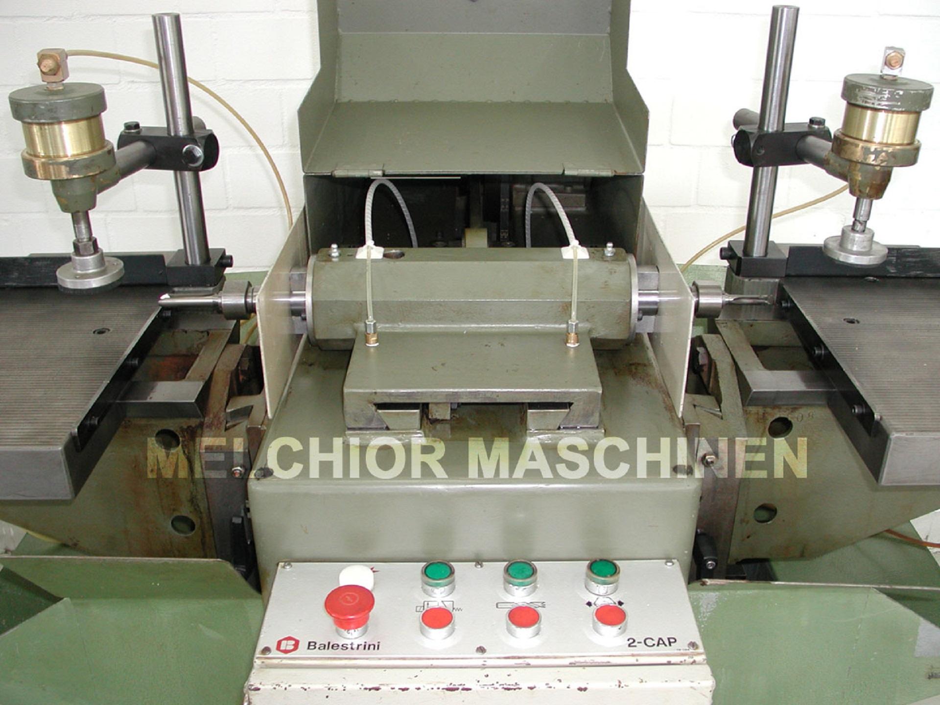 BALESTRINI 2 CAP Langlochbohrmaschine - 7 -