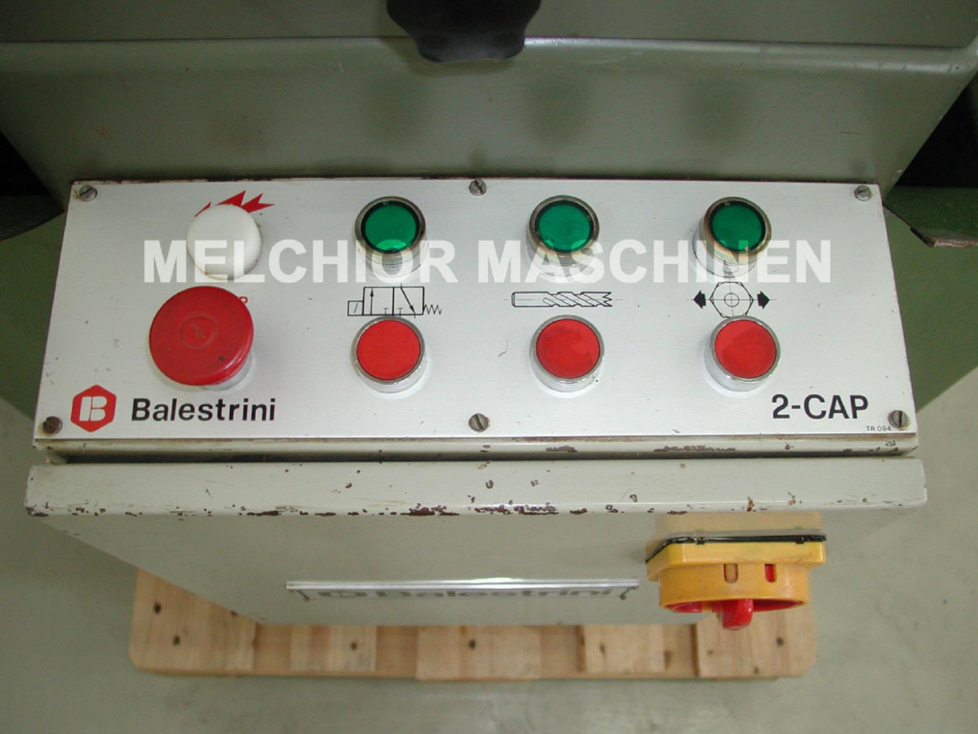 BALESTRINI 2 CAP Langlochbohrmaschine - 9 -