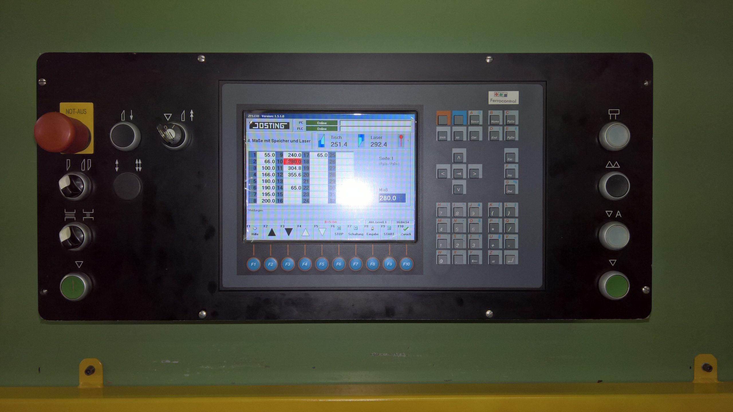 JOSTING ZFS 2800 Doppelpaketschere - 11 -