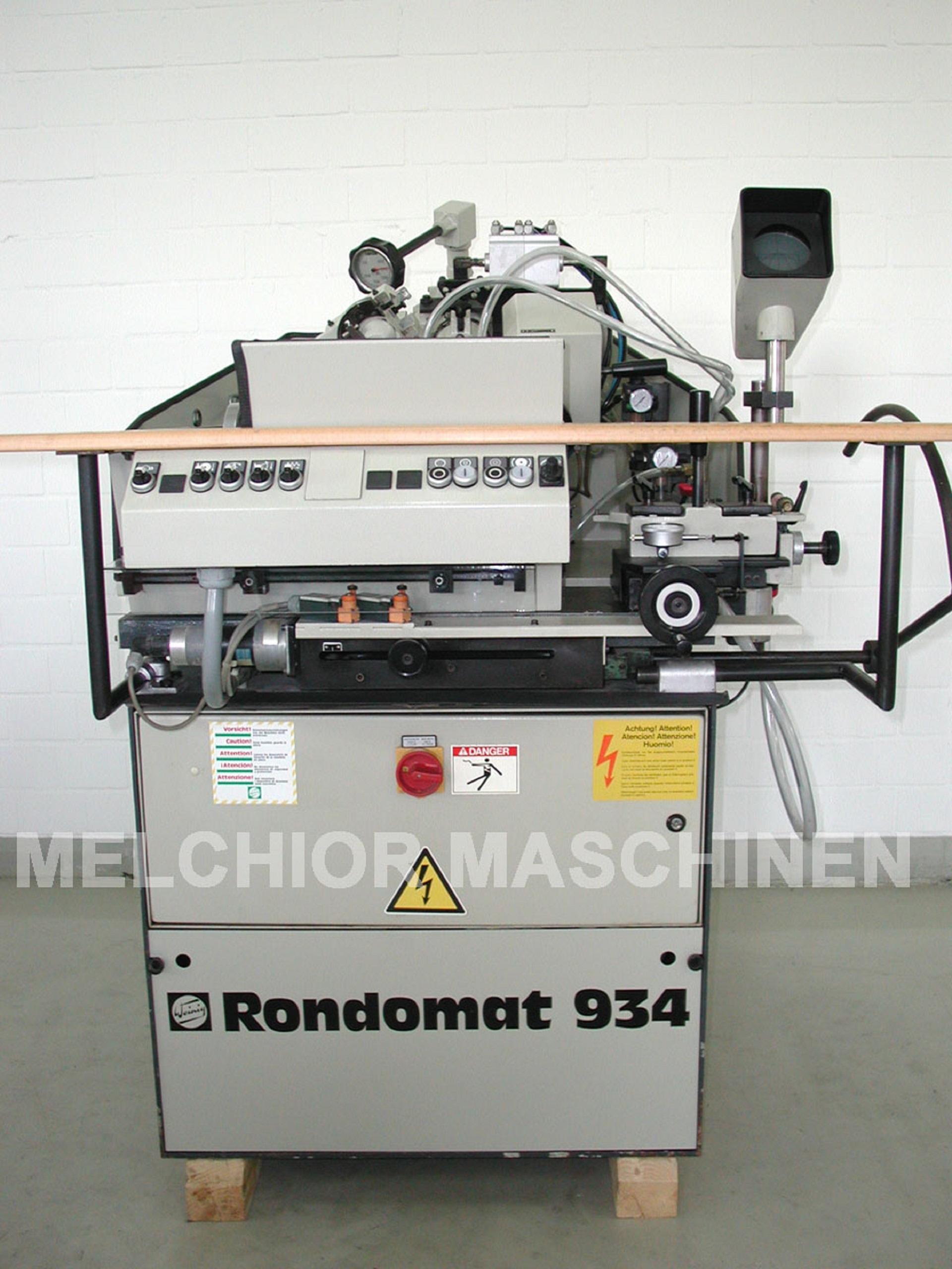 WEINIG Rondamat R 934 - 1 -