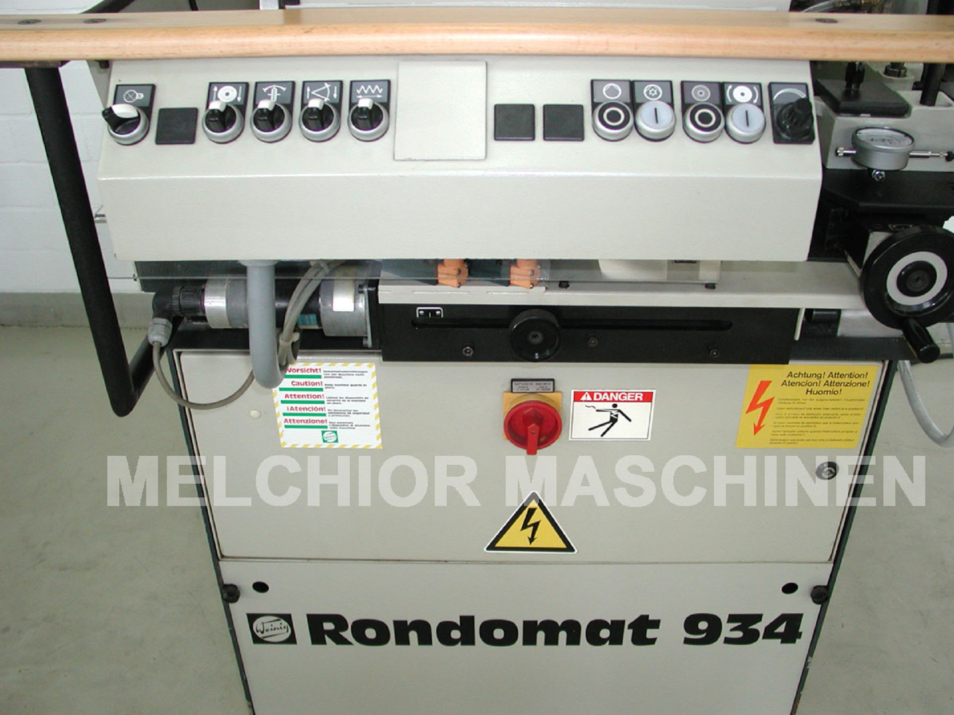 WEINIG Rondamat R 934 - 5 -